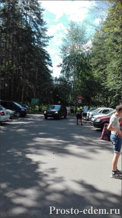 вход в Парк Лесоводов