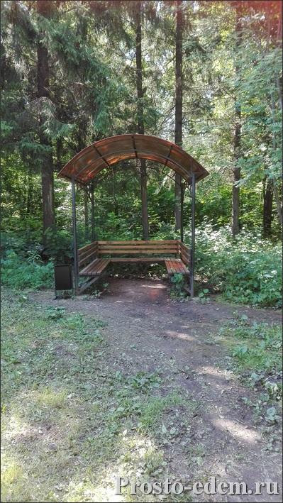 Беседки в парке лесоводов Башкирии