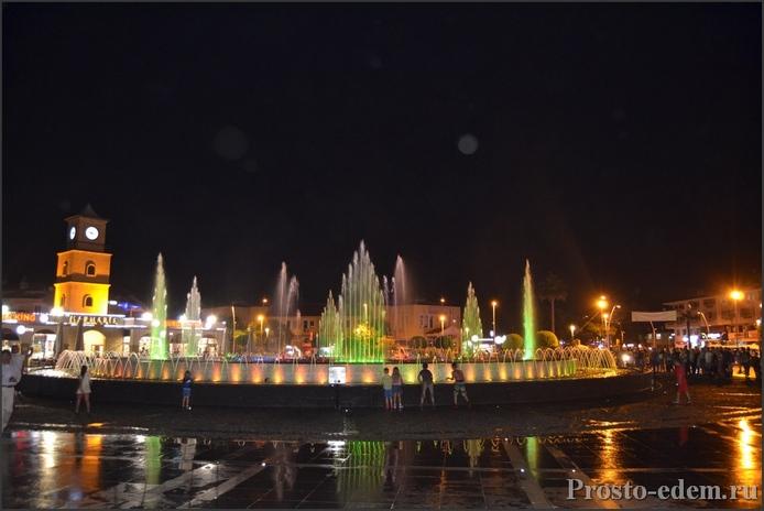 Поющие фонтаны в Мармарисе