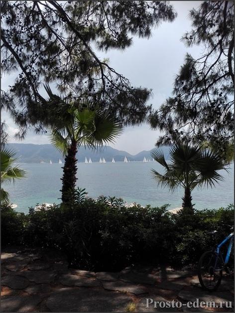 Яхты в Мармарисе
