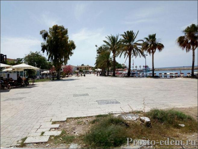 Пляж в древнем Сиде