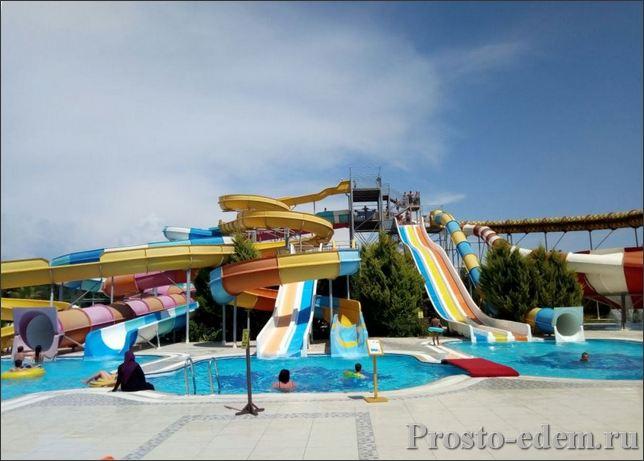 Аквапарк в Нашире Сиде
