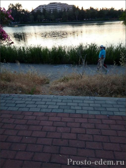 озеро в Титрейенгеле