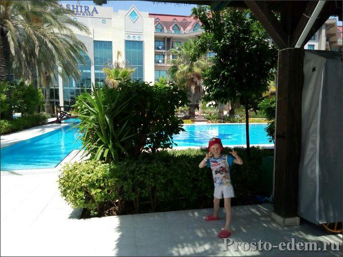 Отель Нашира в Сиде