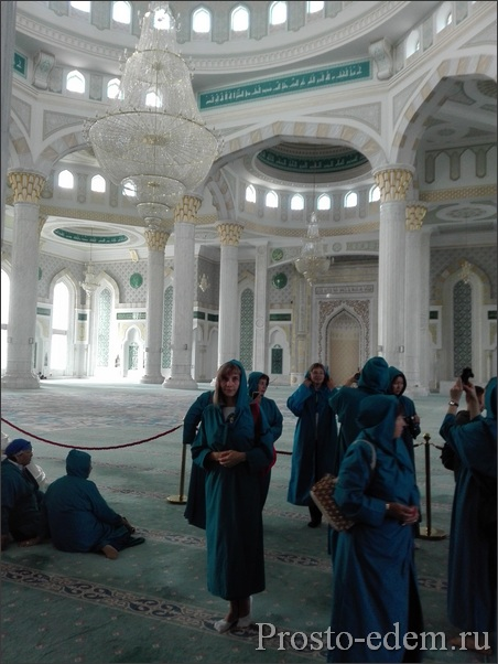 В мечети Нур Султана