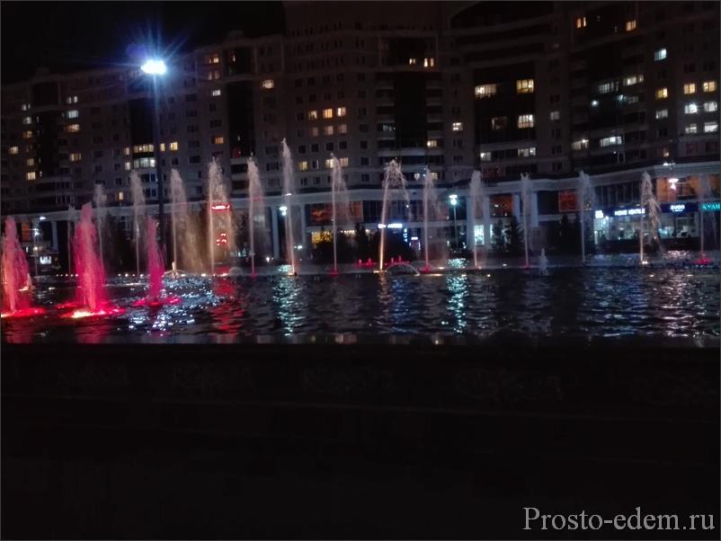 Поющие фонтаны у Бай Терека