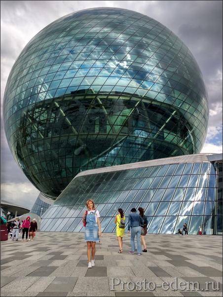 Сфера Нур Алем в Казахстане