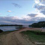 Устье реки Сим